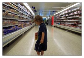 In the Supermarket by photocell