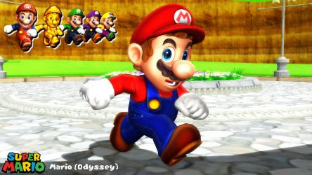 (MMD/XPS Model) Mario (Odyssey) Download by SAB64