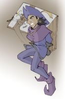 Clopin Hanging shaded by ClopinKingOfGypsies