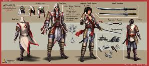 Assassin's Creed Japan - Concept by Alvin Setiwan by 3dsensemediaschool