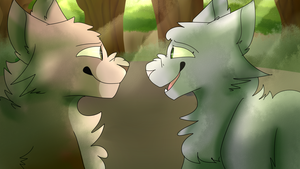 We'll always be friends by jayfeather009