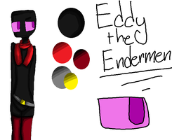 Eddy The Endermen:REF: by Bonnieart04