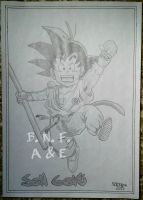 Son Goku by BNFlores
