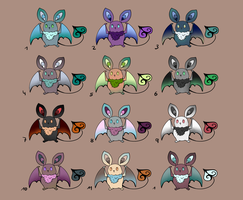 Free Adoptables CLOSED by o0WhiteRaven0o