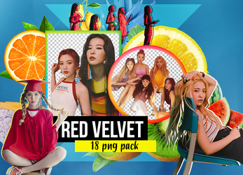 The Red Summer (Red Velvet) PNG Pack PT2. by ShoshiiAlex