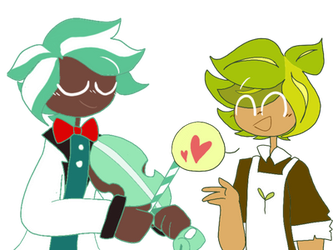 Choco mint and herb (Cookie run) by CherryMikel
