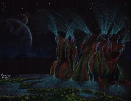 Series Vibrant Nights: 6 Fly Geyser by AuthenticBeauty1