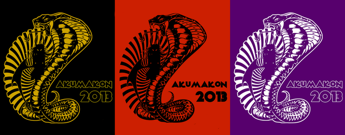 Akumakon T-Shirt Prints 2013 by Bubblecat