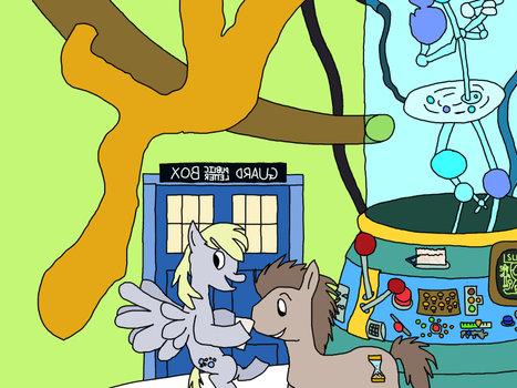 The Pony Doctor's TARDIS [Final] by MarkKB