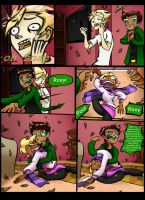 Jane and roxy comic page 28 by LeijonNepeta