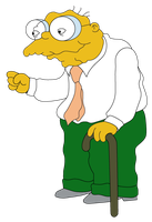 Hans Moleman by Whatsome