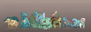 Favourite Starters by Rookie141