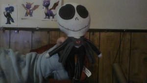 Jack Skellington Plush by BluethornWolf