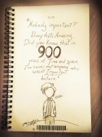 900 Years [A Scribble] by The-Longfall-of-1979