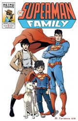 The Superman Family by Krayola-Kidd