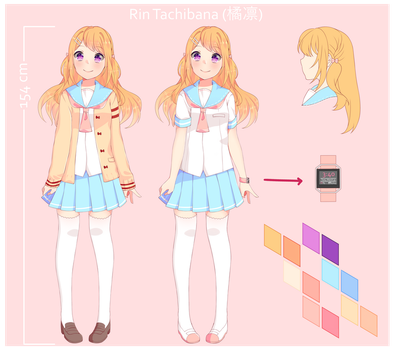 Rinillu Reference Sheet by rabbityogurt