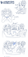 #50shadesoftea COFFEE VS. TEA by Joydroid