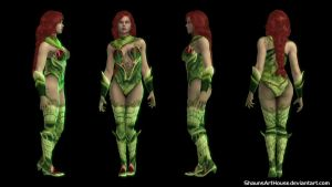 Poison Ivy - Injustice 2 by ShaunsArtHouse