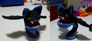 Monster Loonak plush with posable tail by Bladespark