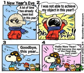 07 New Year's Eve KND Peanuts by Re3andScotty