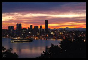 A New day in Seattle by whitelouis