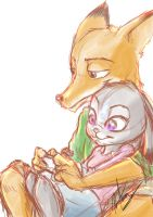 Judy X Nick by Yipongo