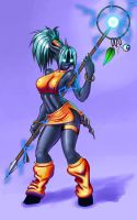 freaky chaman color 02 by Chacartz