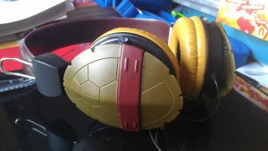 tmnt epic headset by WolffangComics