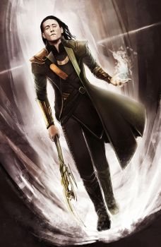 Loki by Corvidajor
