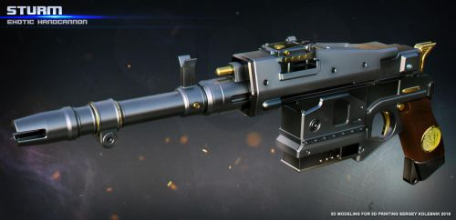 Exotic Handcannon Sturm by ksn-art