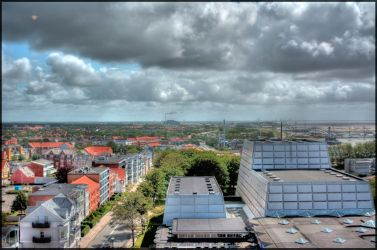 Esbjerg City HDR by holmphoto