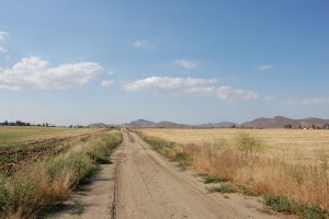 dirt road and empty fields 1 by agent-kstock