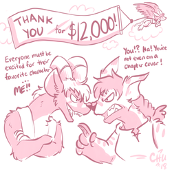 $12,000 Reached! by raizy