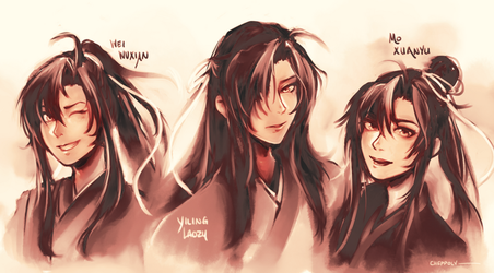 Wei Wuxian 3 Flavors by Cheppoly