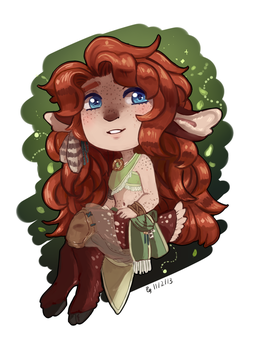 Commission chibi Alura by LEILA-S-P7