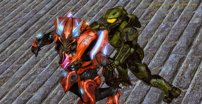 Halo-Chief Goes Back to Reach by DerangedGod