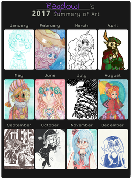 Ragdowl's Summary Art 2017 by Ragdowl