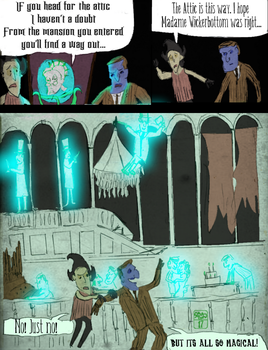 Lost House on the LEft pg9 by Ohthehumanityplz