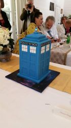 Our wedding cake by Lupus-deus-est