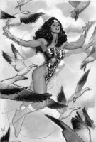 Wonder Woman Day 2008 by AdamHughes