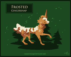 Holiday Zippurrcat: Frosted Gingersnap [CLOSED] by Immonia
