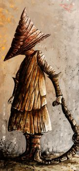 Pyramid Head by TheTrashCaretaker