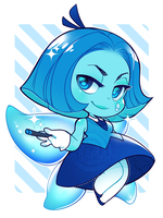 blue fairy from hell by Kiwibon