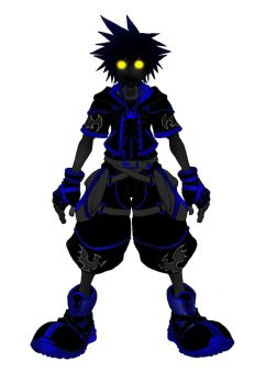 Kingdom Hearts 2 Anti Form by Marduk-Kurios