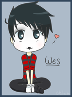 Wes Doodle 2 by xMisha-chanx