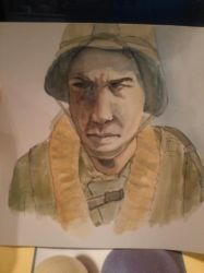 Unfinished Soldier by felcandy