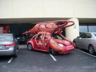The Lobster-Mobile by CaptainKuro