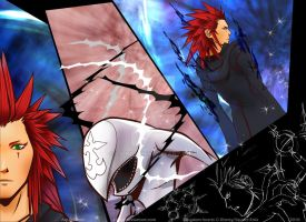 Kingdom Hearts II: Axel by Lilhor