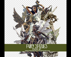Fairy Statues png pack by XWondergirlzX1995