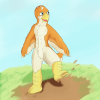 Mud Birb by dalnariarna